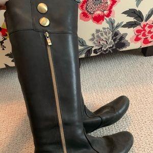 Black Steve Madden riding boots 9.5